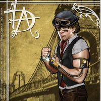 Dean Ambrose Steampunk version by stephtlm