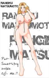 Naked Rangiku by bykai