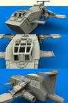 ThunderHawk Gunship wip