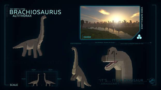 SPECIES PROFILE // Brachiosaurus