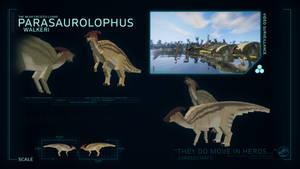 SPECIES PROFILE // Parasaurolophus