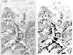 Superman versus Artemis