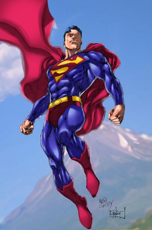 Superman by Ivan Reis by ernestj23