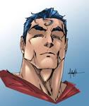 Superman Coloring Practice