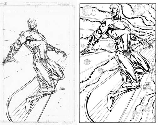Silver Surfer by Finch