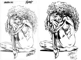 Misery by J. Scott Campbell by ernestj23