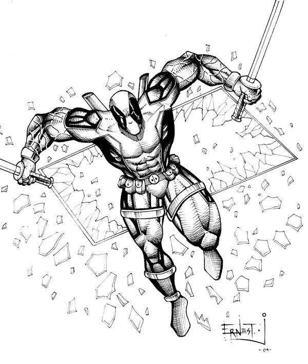 Deadpool by ernestj23