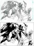 Batman vs Joker by Finch
