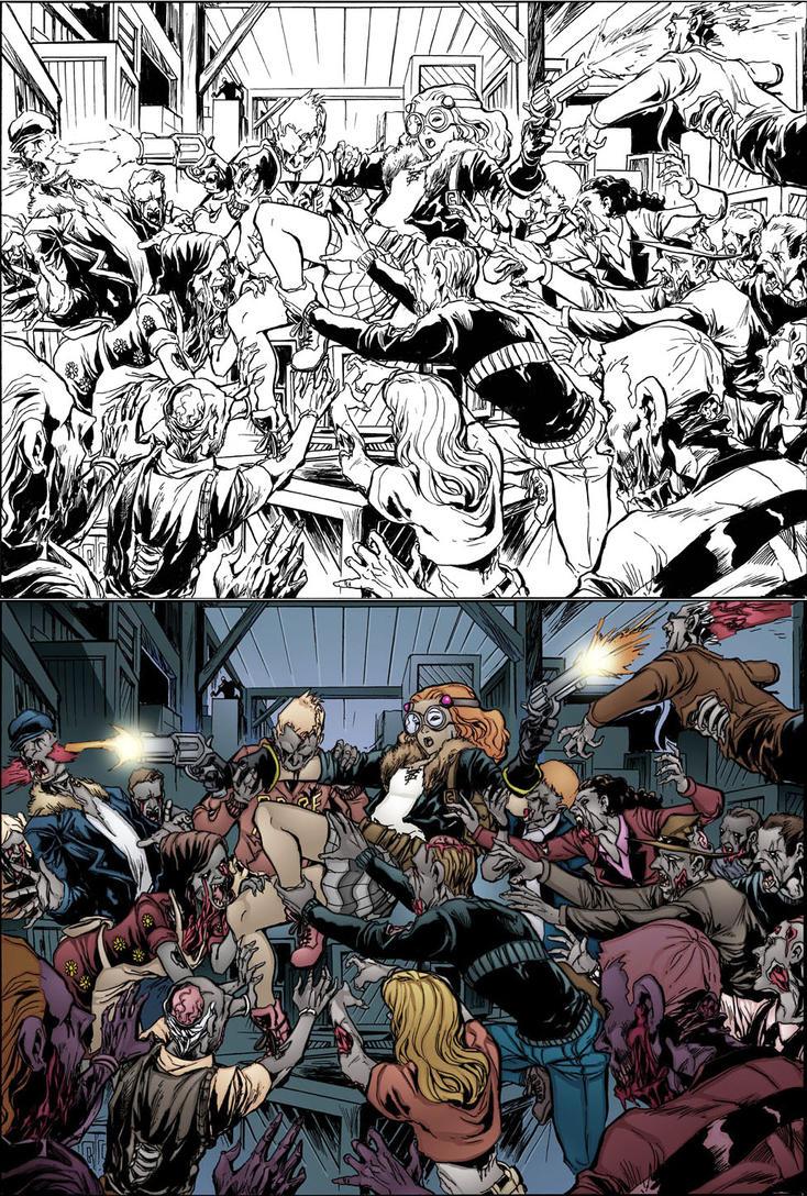 Zombie Gangbang 69