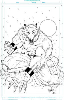 Ice Wolf Commission
