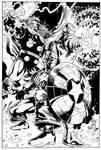 Avengers Trio by Heubert