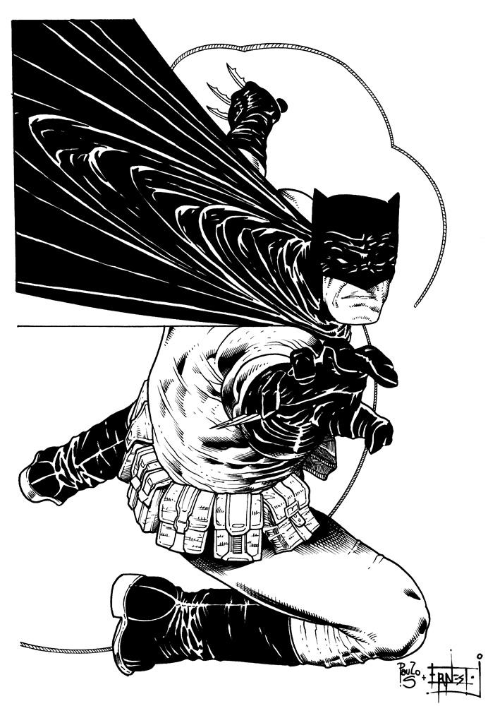 Batman Ink Sample (Paulo Sierra) by ernestj23