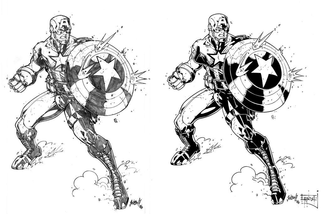Ultimate Captain America by ernestj23