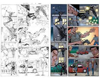 Black Arrow #4 Page 10 COLORS by ernestj23