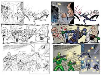 Agent Solo #1 Page 4 COLORS by ernestj23
