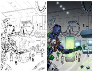 Agent Solo #1 Page 3 COLORS by ernestj23