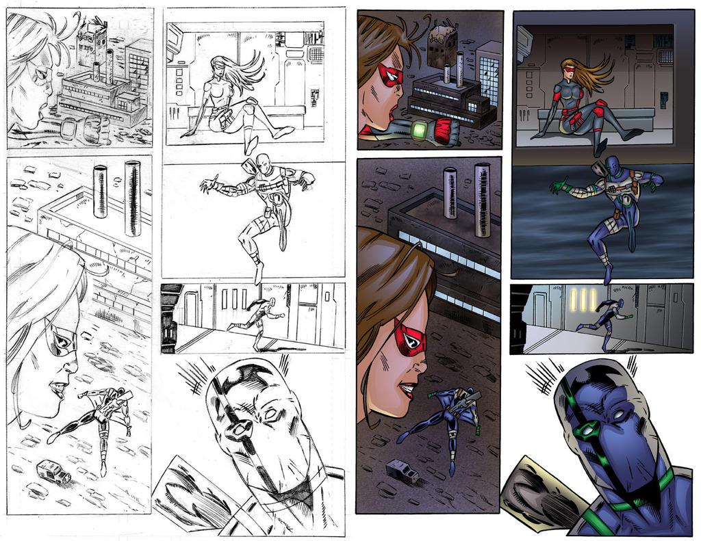Agent Solo #1 Page 2 COLORS