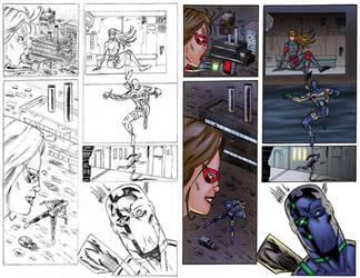 Agent Solo #1 Page 2 COLORS by ernestj23