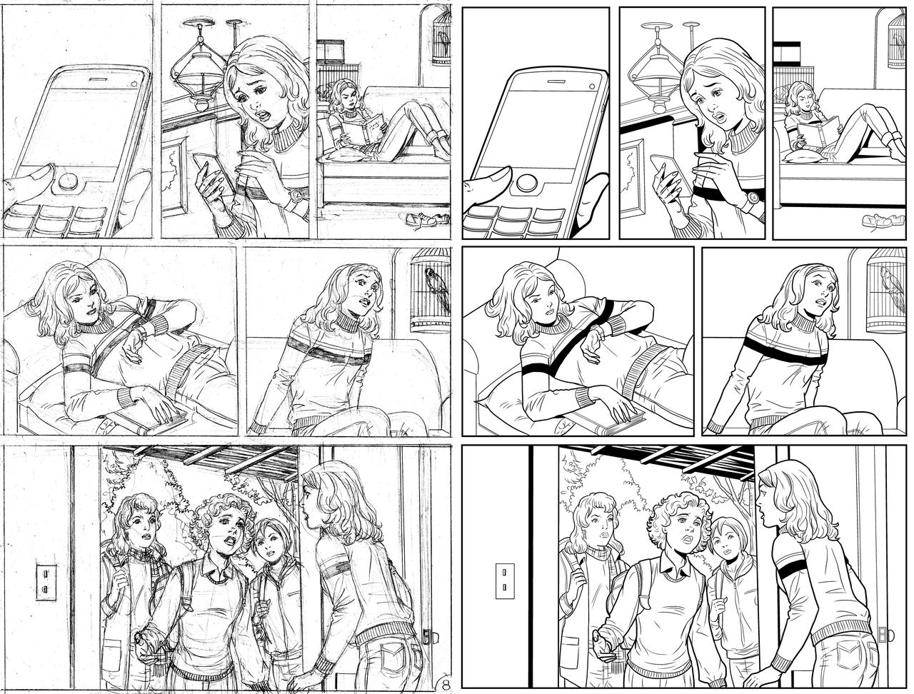 Wendy Adventure Page 8 INK