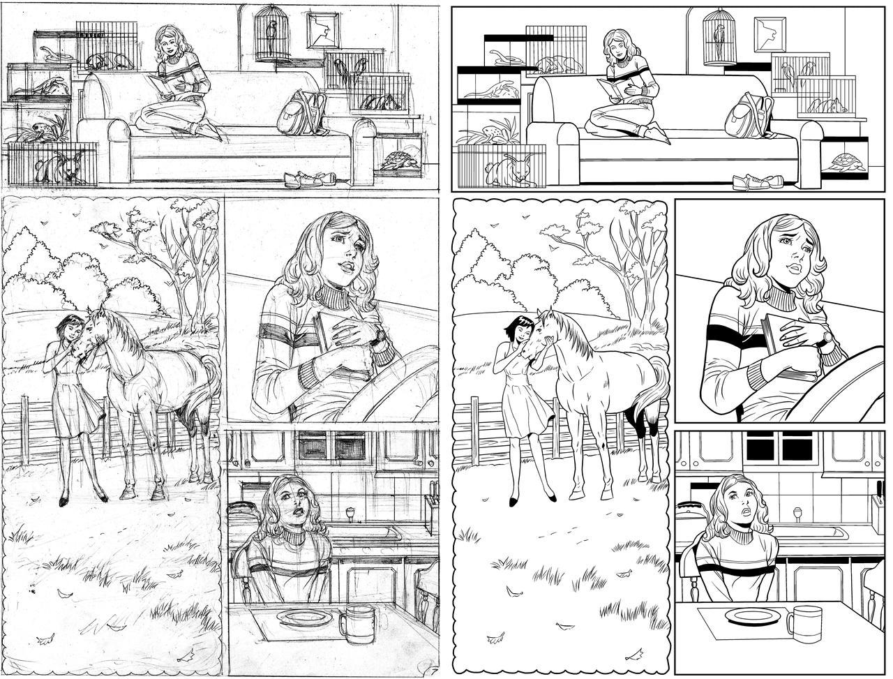 Wendy Adventure Page 7 INK
