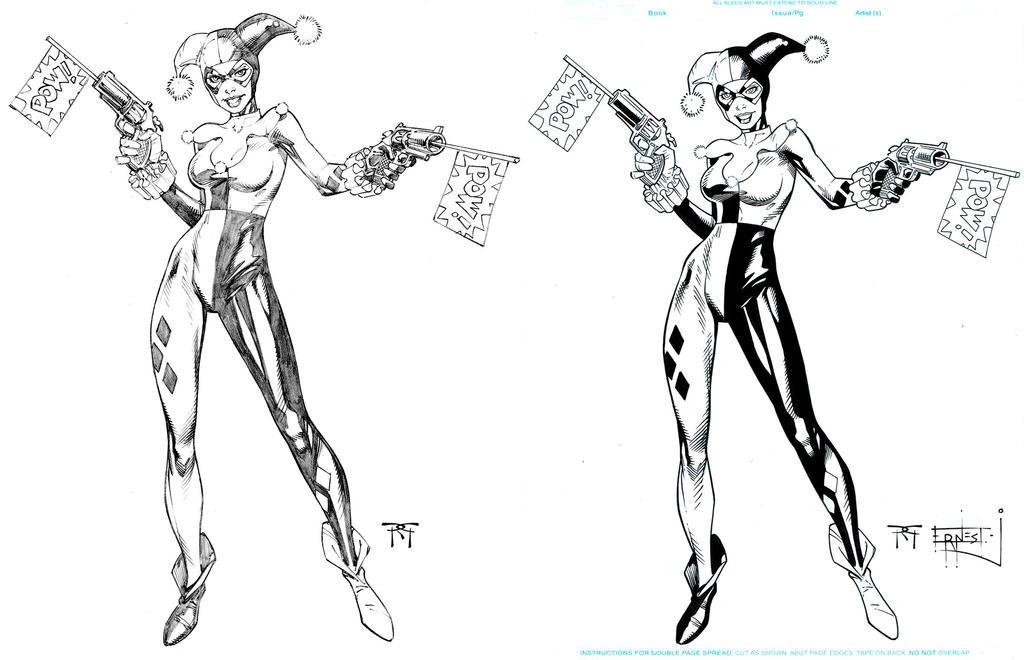 Harley Quinn Ink