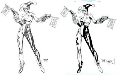 Harley Quinn Ink by ernestj23