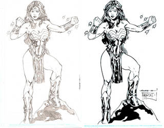 Wonder Woman Ink by ernestj23