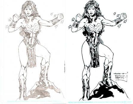 Wonder Woman Ink