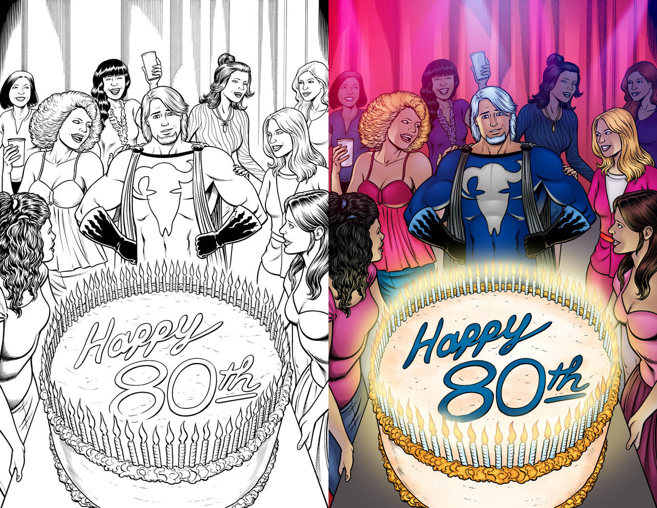 Blue Terror 80th Birthday