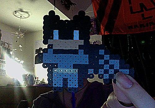 batman perler beads by purpurroterNachthim