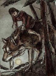 KaKAO 72 Wolfsmaedchen by Elhanna