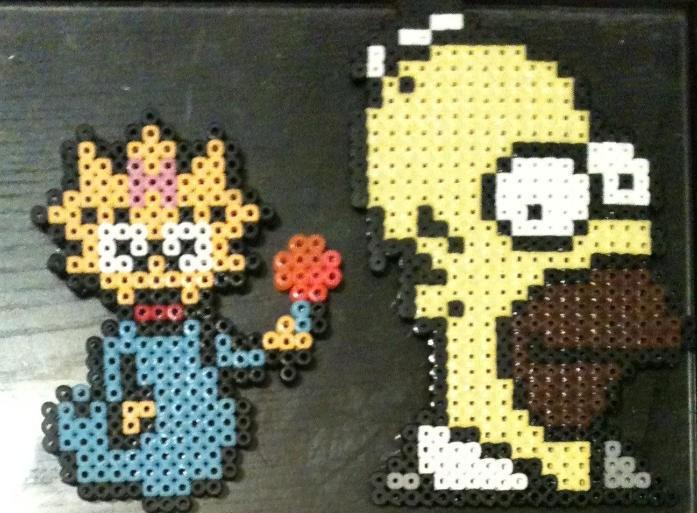 Perler Bead Creations Simpsons by Rhys-Michael on DeviantArt