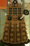 Perler Bead Creations Dr. Who Dalek by Rhys-Michael