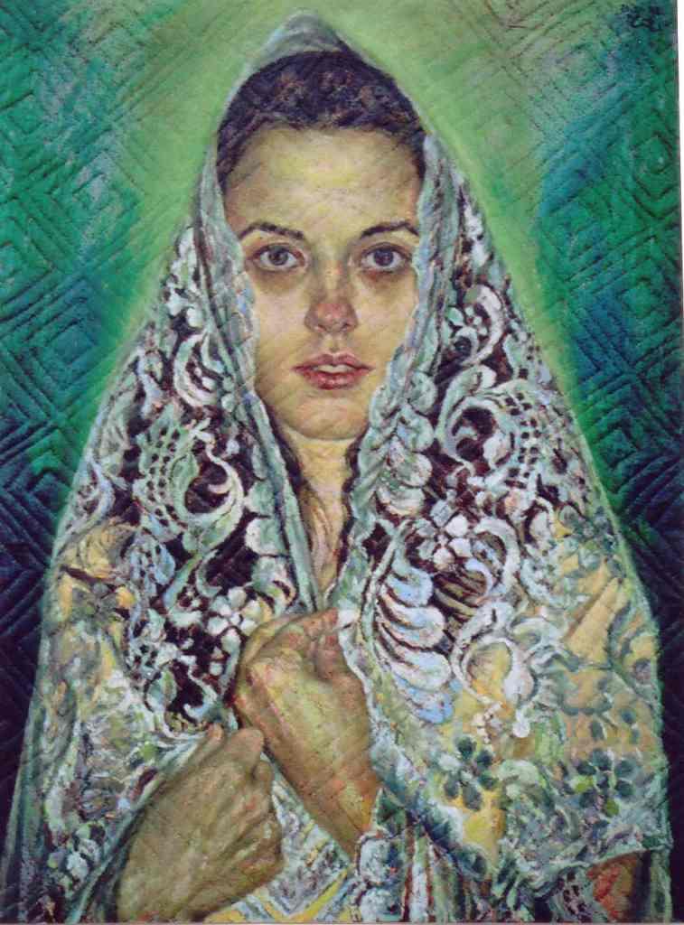 Mary by CunachuRetratista