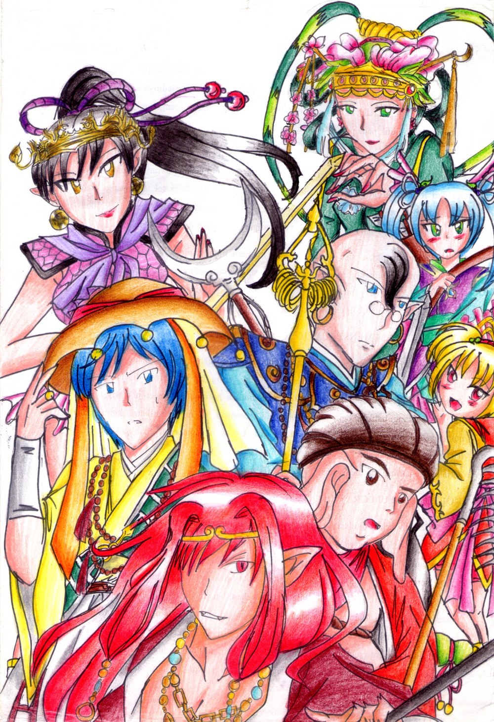 Saiyuki Journey West Psx By Ainseltachibana On Deviantart