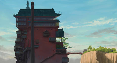 Spirited Away - Practice #13/100 by qs2435
