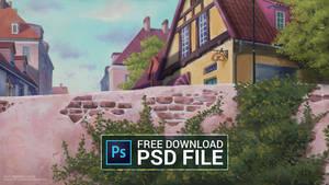 Free PSD file - Kiki's Delivery Service