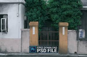 Free PSD + Timelapse video
