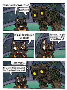 Rocket and Groot Fan Comic page 26