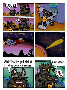 Rocket and Groot Fan Comic page 28