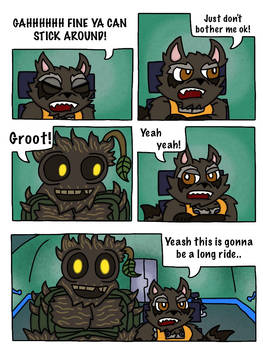 Rocket and Groot Fan Comic page 29