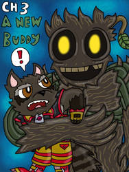 Rocket and Groot Fan Comic character 3