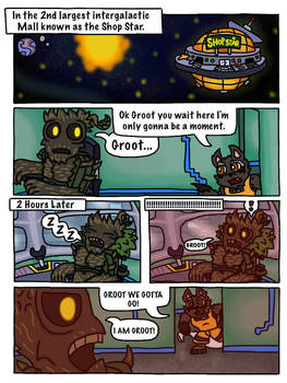 Rocket and Groot Fan Comic page 30