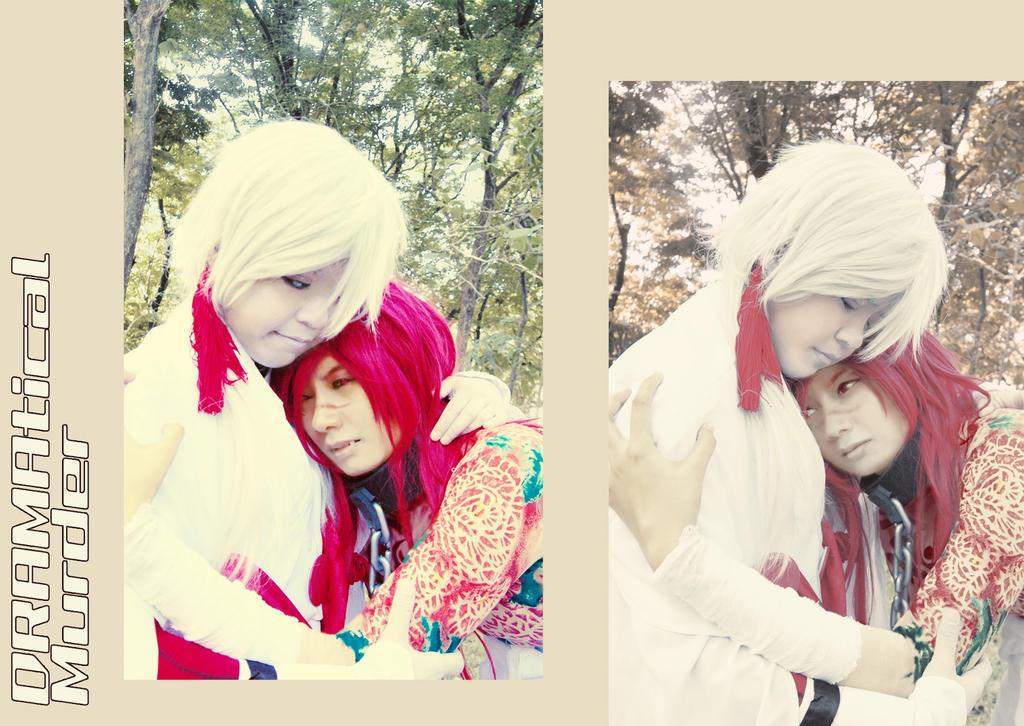 the Wedding (no) Red Koujaku X Shiroba 14 by bittawae