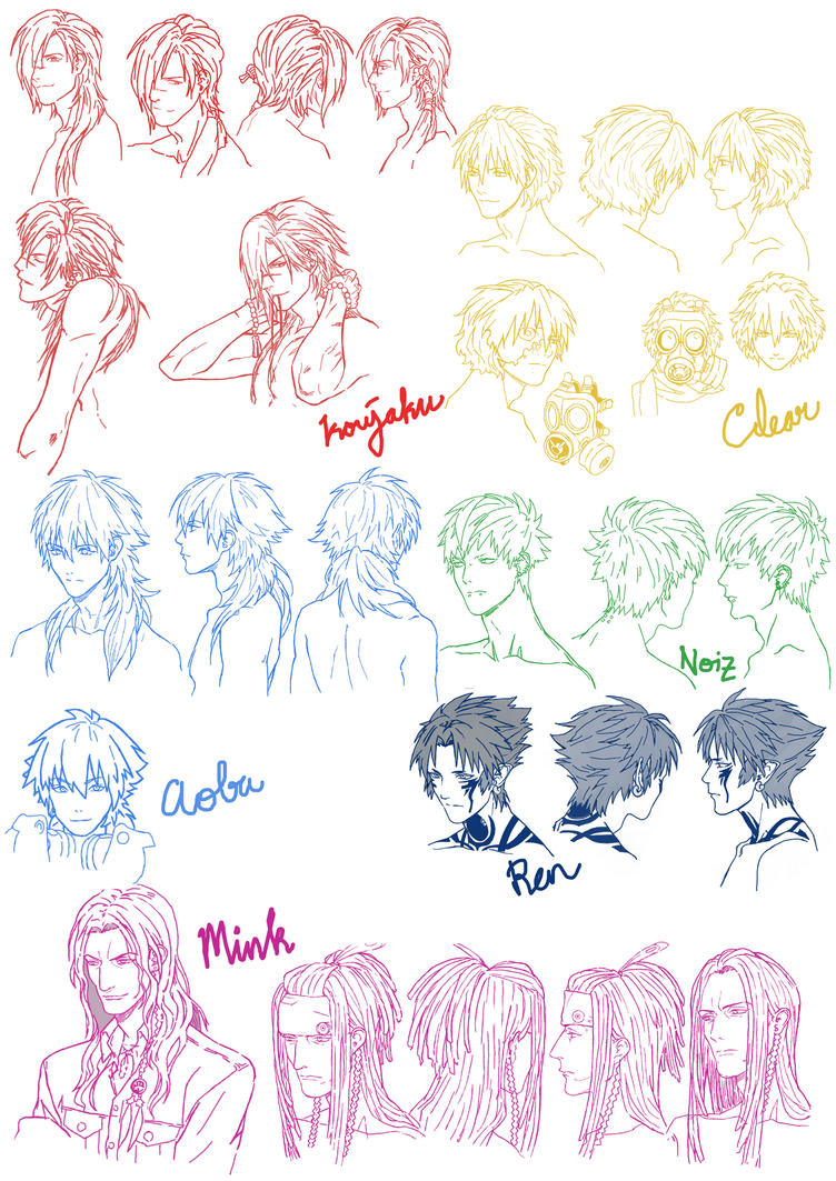 DMMd character concept drawing by bittawae