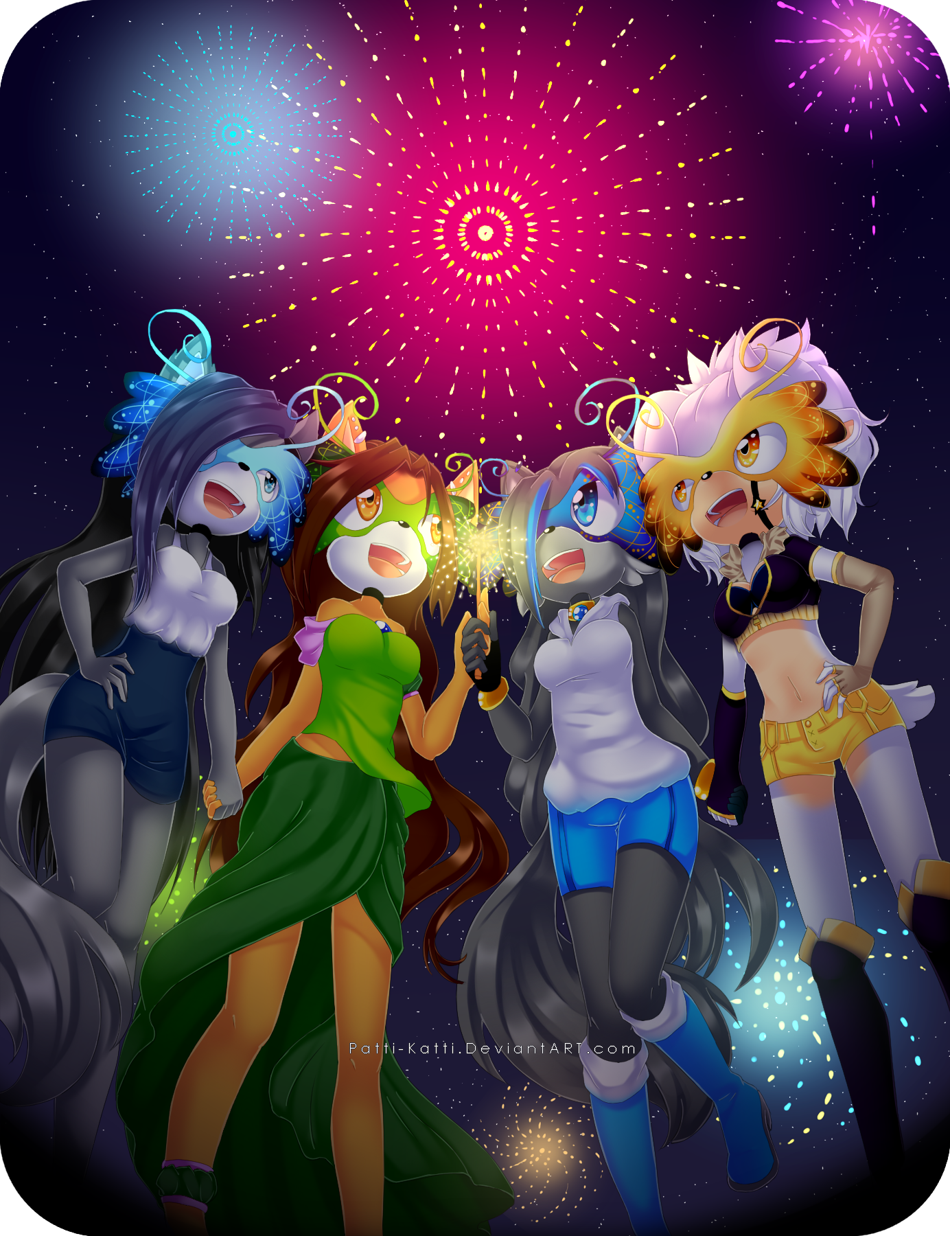 The New Year by Patti-Katti