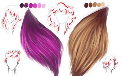 idk I like drawing hair ok xD