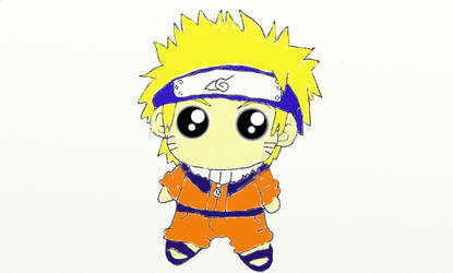 Naruto Chibi by FloralFlower