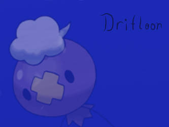 Drifloon Wallpaper by FloralFlower
