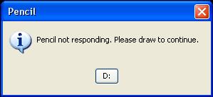 Pencil Error by FloralFlower